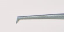 Capsulorhexis Utrata Straight – Tip to angle 12mm