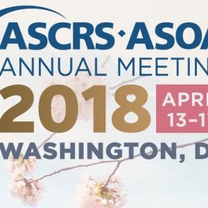 Meet Us at ASCRS • ASOA Annual Meeting Registration